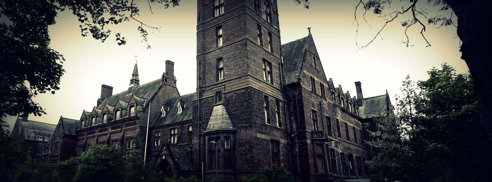Newsham Park Abandoned Hospital Liverpool
