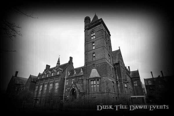 Newsham Park Ghost Hunts Liverpool with Dusk Till Dawn Events