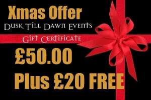 Christmas Gift Certificate Offer 2017